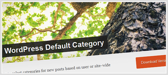 WordPress Default Category